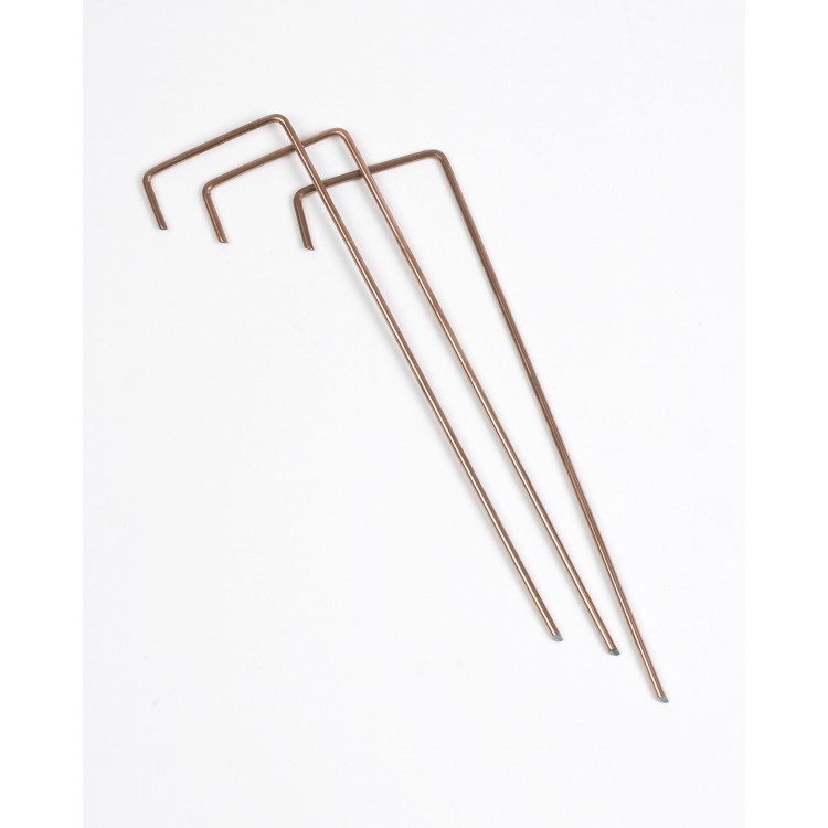 Copper Coated Steel J Pins 20cm