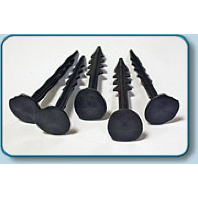 Fixing Pins 140mm Barbed - (For use with Anti - Slip Horse Matting)