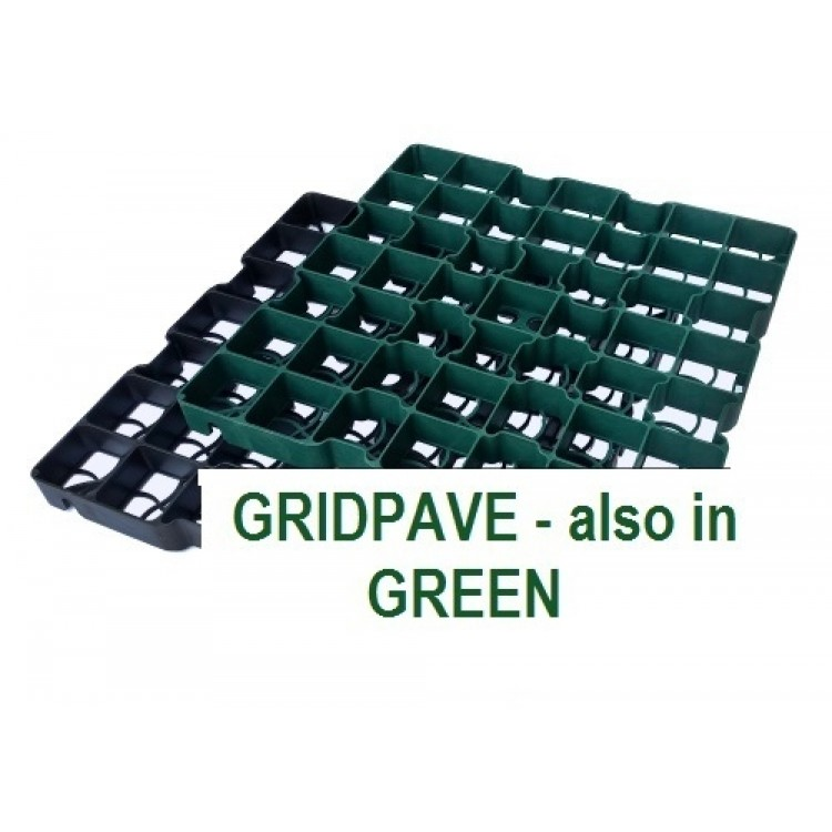 Gridpave GREEN - STRONG ECONOMICAL POROUS PAVERS