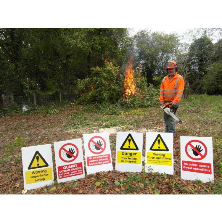 Forest Warning Signs